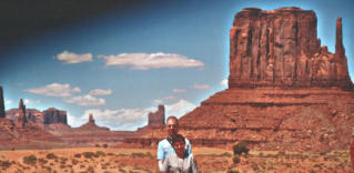 Im Monument Valley - USA 2005